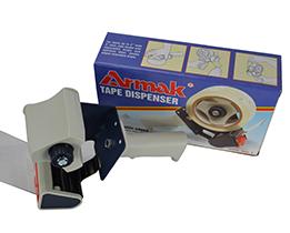 Tape Dispenser 72mm width with roller brake & cover